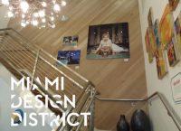 Obra en Miami Design District - Pisos de Ingeneria TTC en pared a 45°