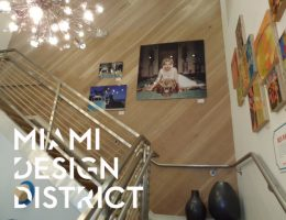 Obra en Miami Design District - Pisos de Ingeneria TTC en pared a 45°