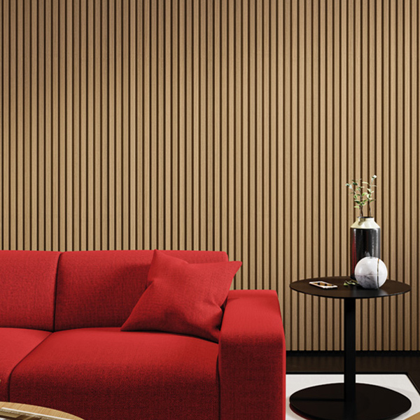 NOVEL Wall Panel - Teak Textura Madera (interior) - 2940-248 - AMBIENTE - The Flooring Co